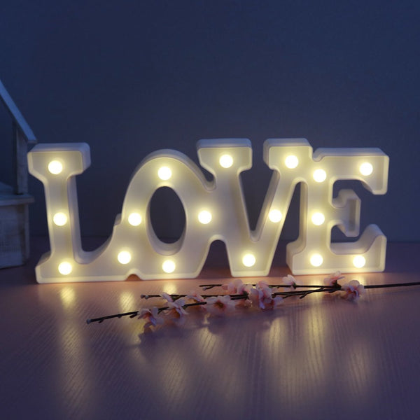 "Illuminated LED ""Love"" Sign"