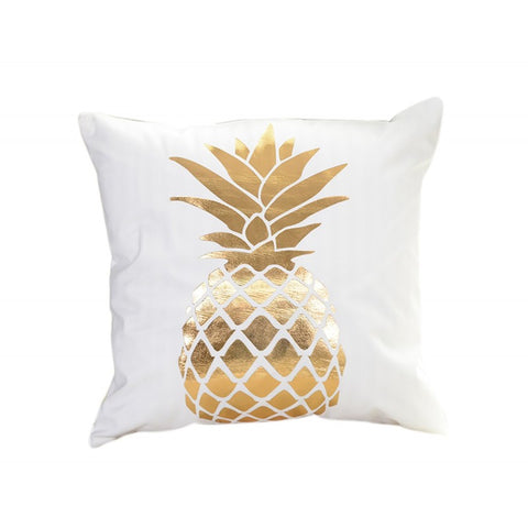Large Pineapple Decorative Cushion Cover - Fancier Living