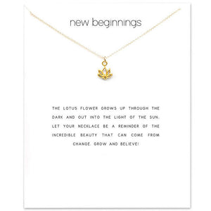New Beginnings Charm Necklace