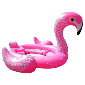 Giant Inflatable 7 Person Flamingo Raft