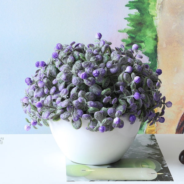Potted Artificial Decorative Flowers - Fancier Living