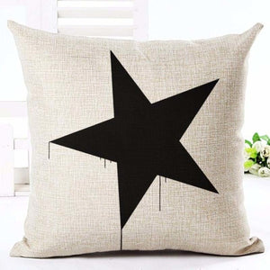 Rustic Star Cushion Cover - Fancier Living