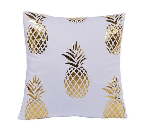 Small Pineapples Decorative Cushion Cover - Fancier Living