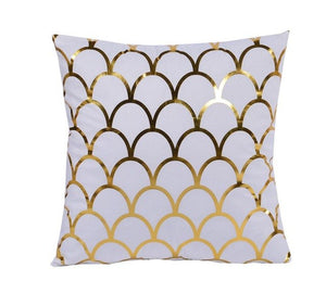 Gold Mermaid Decorative Cushion Cover - Fancier Living