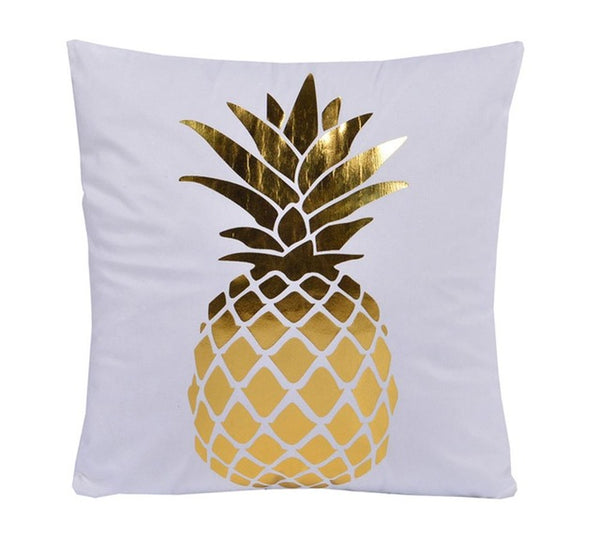 Gold Love Decorative Cushion Cover - Fancier Living