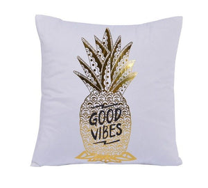 Good Vibes Decorative Cushion Cover - Fancier Living