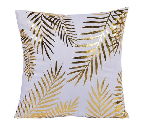 Tropical Leaves Decorative Cushion Cover - Fancier Living