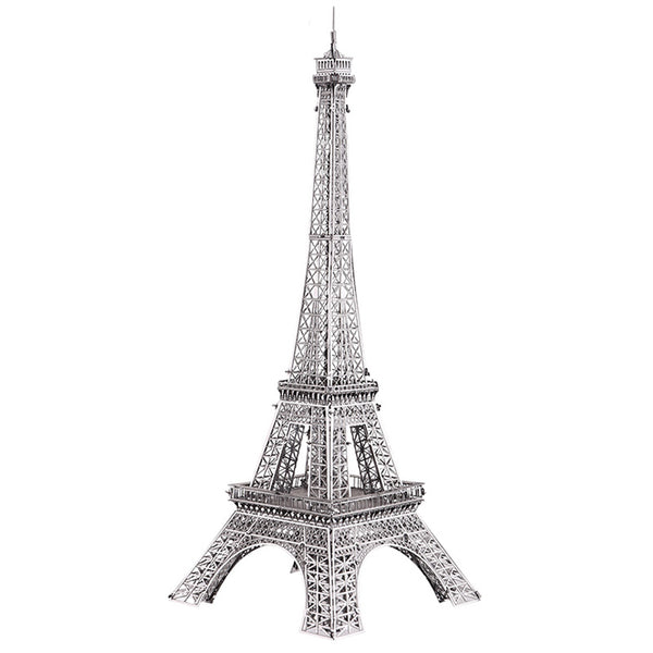 Gold Eiffel Tower 3D Metal Puzzle - Fancier Living