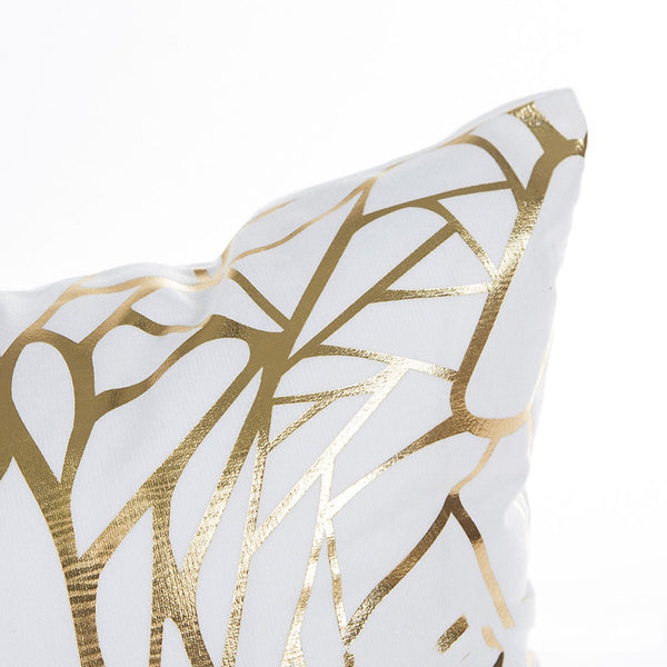 Queen Gold Decorative Cushion Cover - Fancier Living