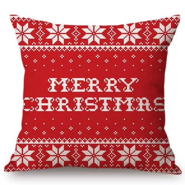 Mini Reindeer Christmas Cushion Cover - Fancier Living