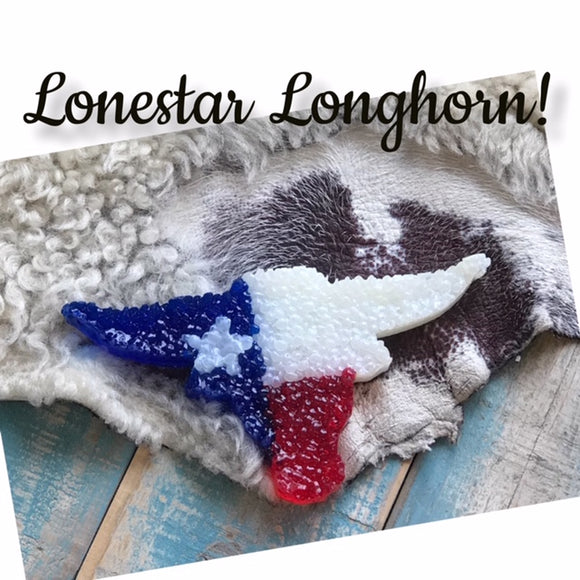 Longhorn Texas Flag