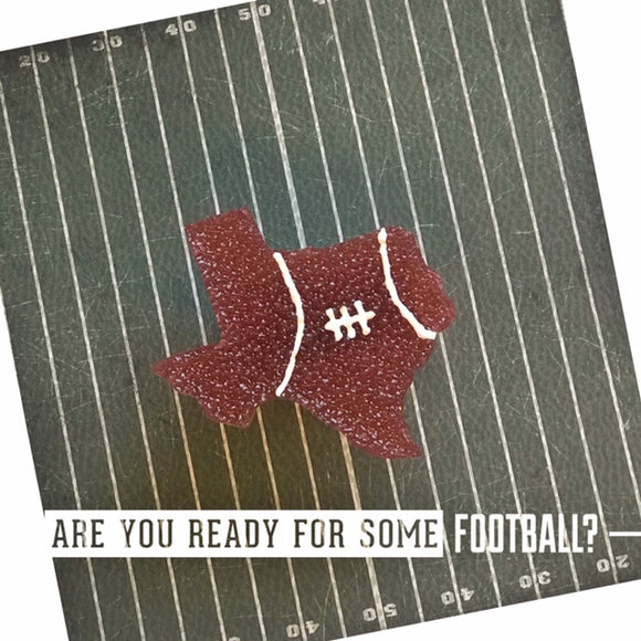 Texas Shaped Football