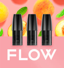 FLOW Pod Peach Oolong -  - FLOW - FLOW - flowvape