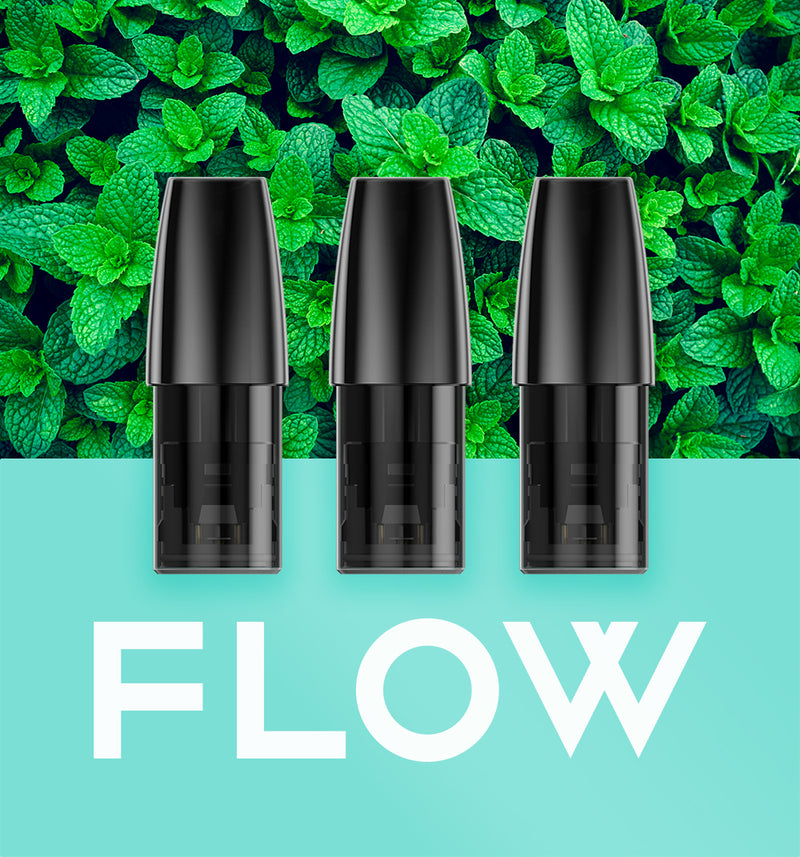 FLOW Pod Fresh Mint -  - FLOW - FLOW - flowvape