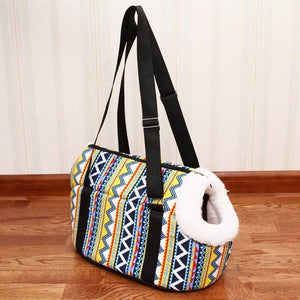 Travelling Zigzag Shoulder Bag for Cats (2 sizes)