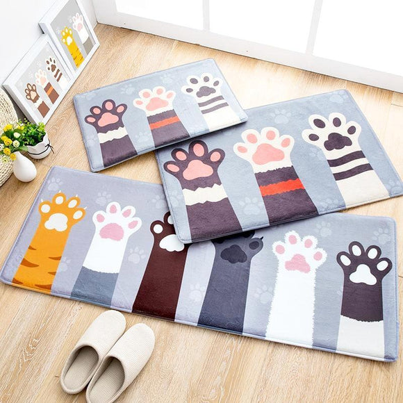 Say Hello Cat Paws Doormat (4 sizes)