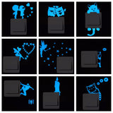 Blue Light Luminous Wall Decor Sticker