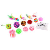 Cat Toy Variety Funny Surprise Pack Set (16 Pieces)