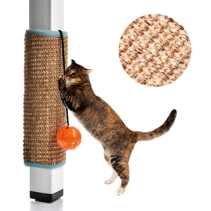 Attachable Cat Scratching Pad - Brown
