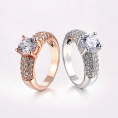 """My Queen"" Rose Gold Ring"