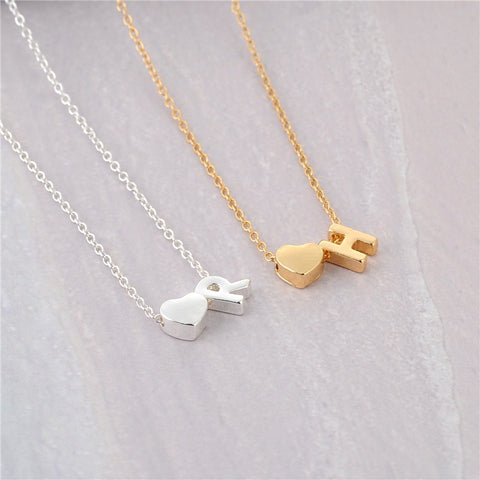 Image of Personalized Letter Necklace