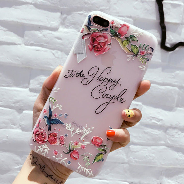Flower Phone Case For iPhone