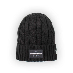 YB Beanie Cable Knit