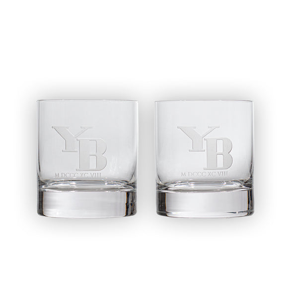 YB Whisky Glas Set