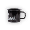 YB Aare Emaille Tasse