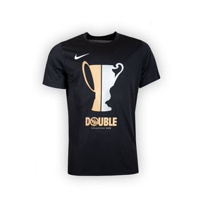 YB T-Shirt Nike Double 19/20 Kinder