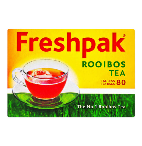 Freshpak Rooibos Tea - Tagless Tea Bags (Pack of 80 Bags) 200g