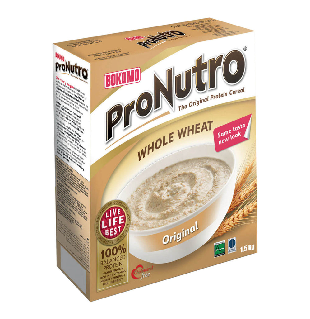 Bokomo ProNutro - Whole Wheat Cereal (Kosher) 500g