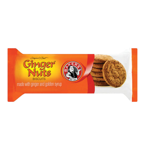 Bakers Ginger Nuts - Ginger Biscuits (Kosher) 200g