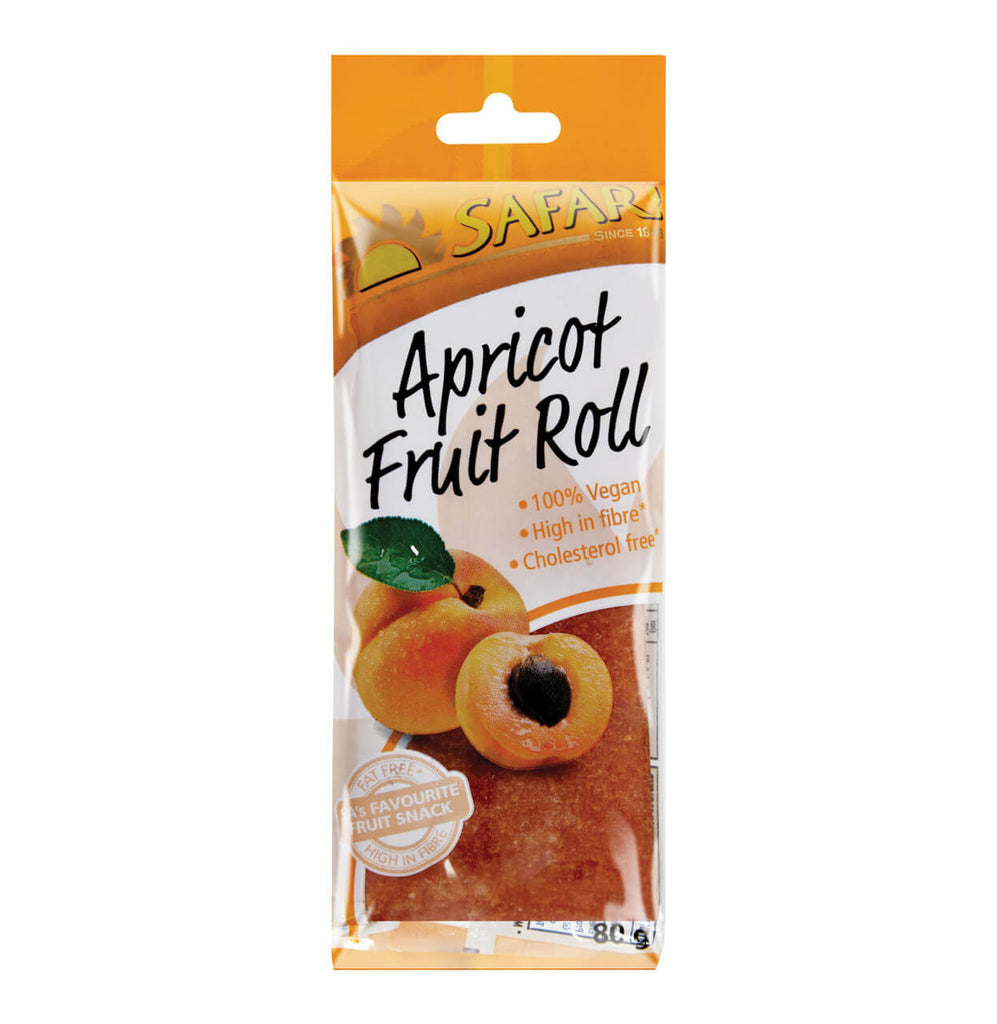 Safari Fruit Roll - Apricot 80g