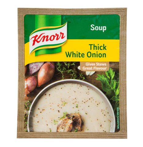Knorr Thick White Onion Soup Packet 50g