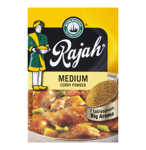 Robertsons Rajah Medium Curry Powder 100g