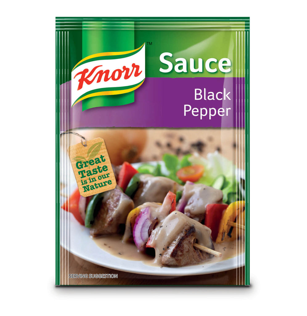 Knorr Black Pepper Sauce Packet 38g