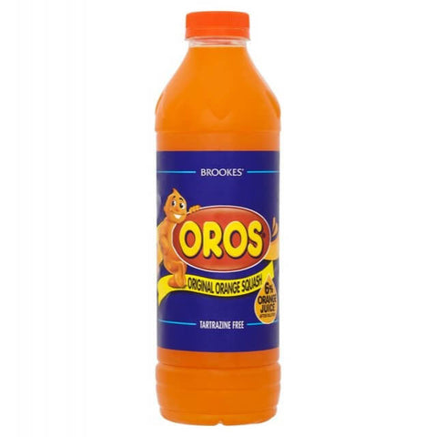 Brookes Oros - Orange Squash 1L