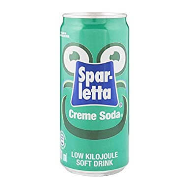 Sparletta Cream Soda Soft Drink 300ml