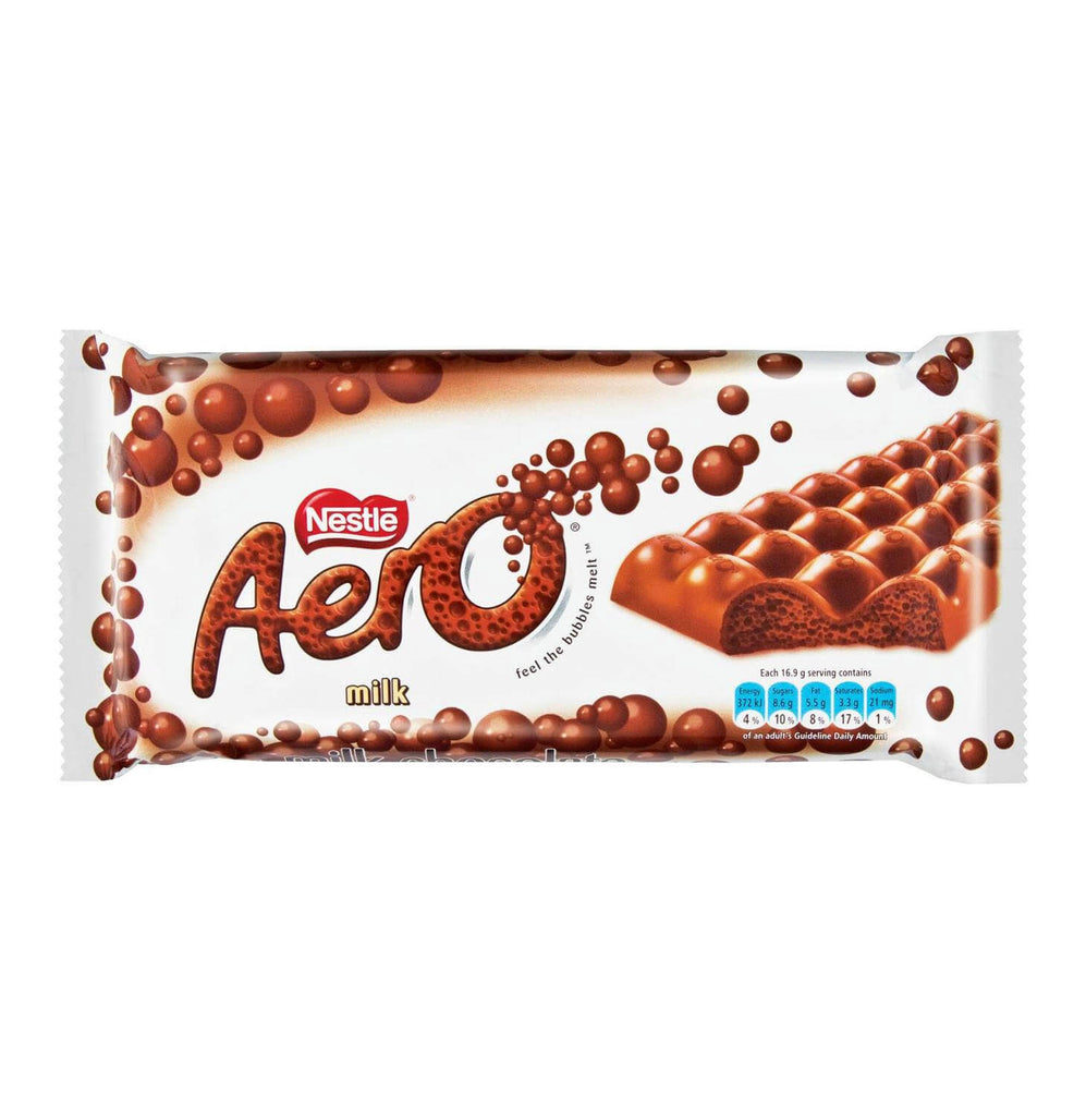 Nestle Aero - Milk Chocolate Extra Large Bar (Kosher) 135g