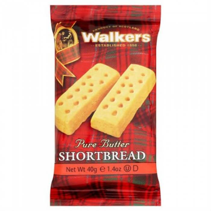 Walkers Shortbread Fingers (Pack of 2 Biscuits) 40g