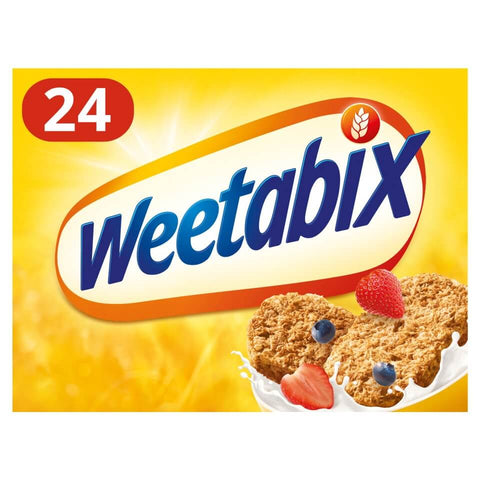 Weetabix Wholegrain Cereal Biscuits (Pack of 24) 480g