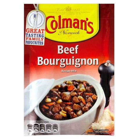 Colmans Seasoning Mix - Beef Bourguignon 40g