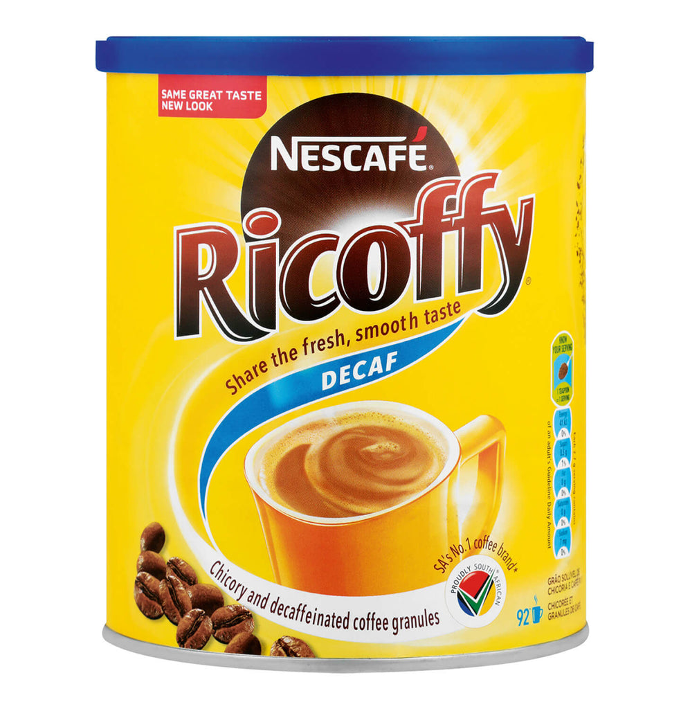 Nestle Nescafe Ricoffy - Decaf Small Cannister (Kosher) 250g