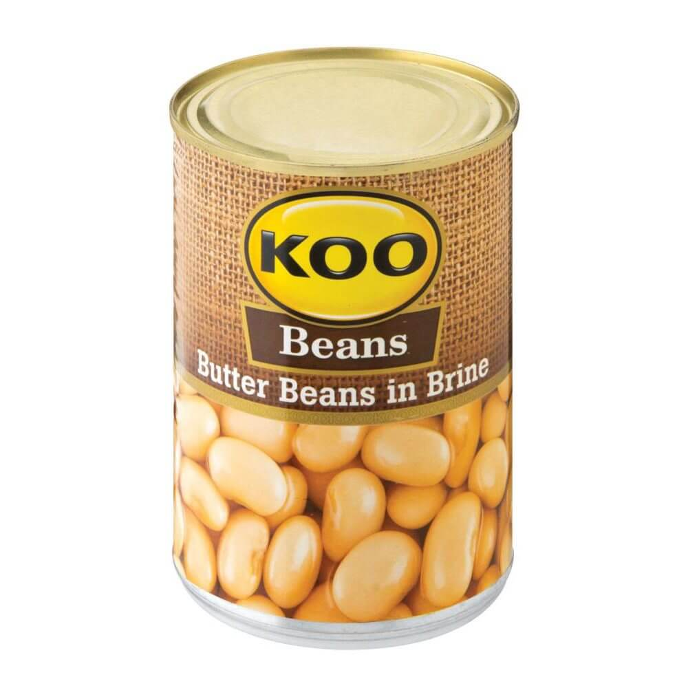 Koo Butter Beans - in Brine 410g