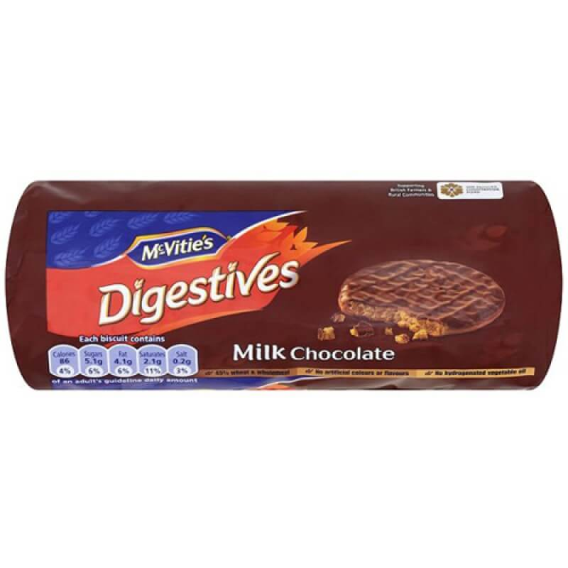 McVities Digestives Milk Chocolate Biscuits 300g