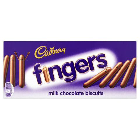 Cadbury Fingers - Biscuits Milk Chocolate 114g