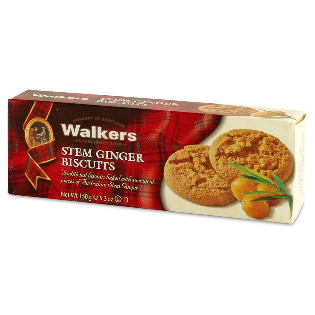 Walkers Shortbread Stem Ginger 175g