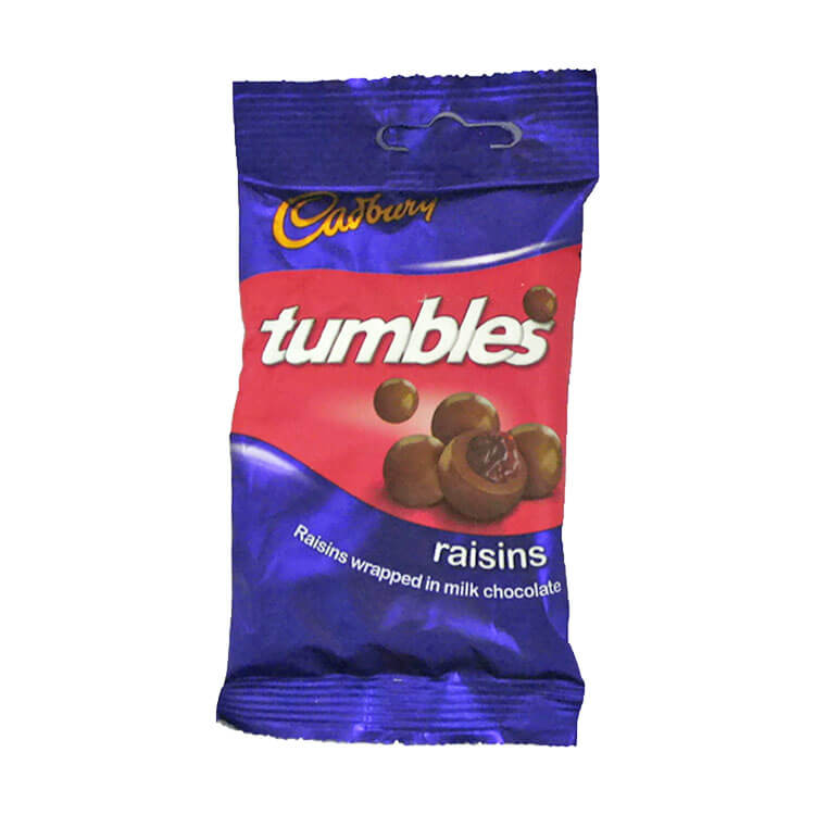 Cadbury Raisin Tumbles 65g