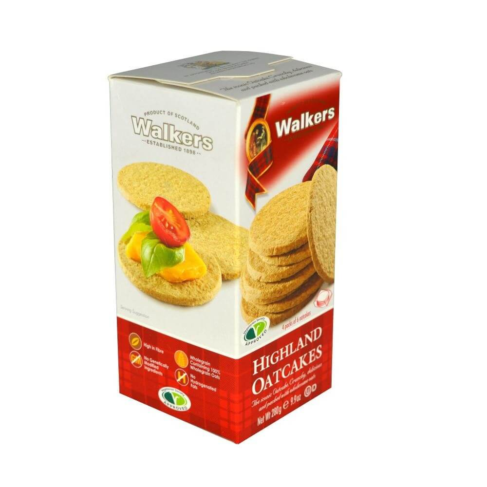 Walkers Highland Oatcakes 280g